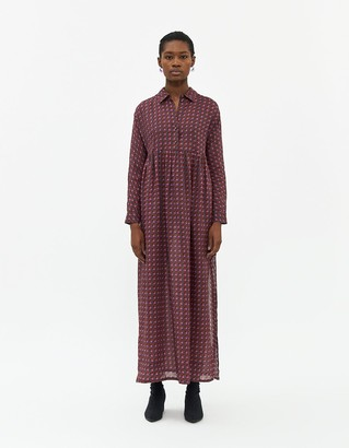 Rachel Comey Women's Taviani House Dress in Purple, Size 0   100% Ramie