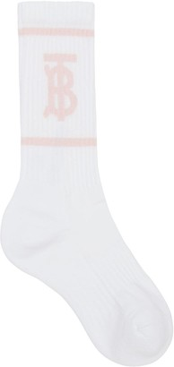 Burberry Monogram Motif intarsia socks