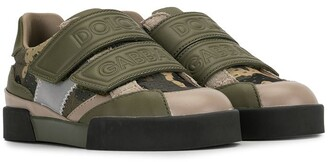 Dolce & Gabbana Kids Camouflage Sneakers