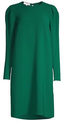 Lafayette 148 New York Gia Long-Sleeve Shift Dress