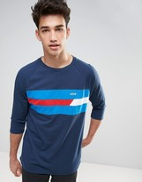 Vans Ninety Three Raglan T-shirt In Blue Va316rlkz