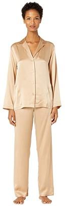 La Perla Silk Pajama (Skin) Women's Pajama Sets