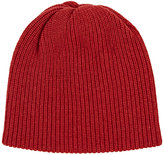 The Elder Statesman Women's Kisser Cashmere Beanie-RED