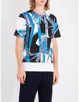 Marni Jungle-print cotton-jersey T-shirt