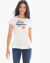 Chico's Zenergy Catherine Chic Happens Tee