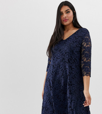 Junarose lace shift dress