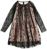 Stella McCartney Embroidered Stretch Tulle Party Dress