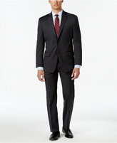 MICHAEL Michael Kors Men's Classic-Fit Charcoal Pinstripe Suit