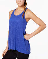 Gaiam Peace Space-Dyed Keyhole Racerback Tank Top