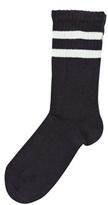 Mini Rodini Stripe Sock Brown