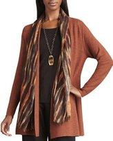 Eileen Fisher Blurred Silk-Wool Wrap