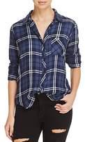 Rails Hunter Metallic Plaid Shirt