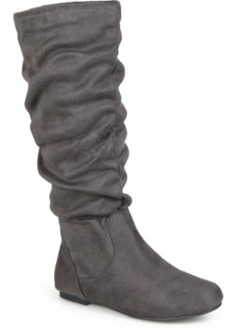 Journee Collection Women's Wide Calf Rebecca-02 Boot Women's Shoes