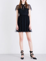 RED Valentino Abito lace and tulle dress