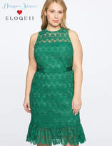 ELOQUII Draper James for Lace Dress with Sash