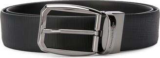 Ermenegildo Zegna Buckled Leather Belt