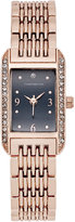 Charter Club Rose Gold-Tone Bracelet Watch 12x19mm, Only at Macy's