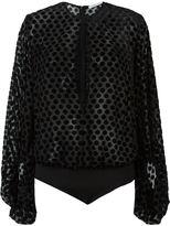 Camilla And Marc 'Carmine' bodysuit blouse - women - Nylon/Polyester/Spandex/Elastane/Rayon - 6