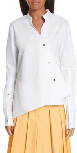 Ji Oh Unbalanced Shirt