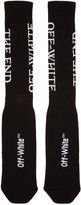 Off-White Black 'The End' Socks