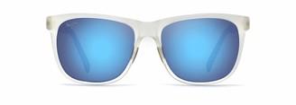 Maui Jim Sunglasses | Tail Slide HT740-15CM | Matte Green Stripe Classic Frame Polarized Maui HT Lenses with Patented PolarizedPlus2 Lens Technology