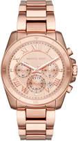 MICHAEL Michael Kors 40mm Jet Set Chronograph Bracelet Watch, Rose