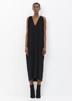 Zero Maria Cornejo black long hara dress