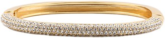 Nina Jewelry Swarovski Crystal Pave Hinge Bracelet