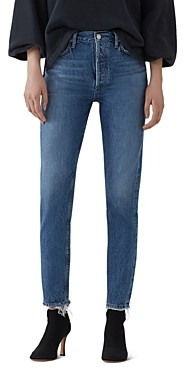 AGOLDE Jamie High Rise Slim Jeans in Blithe