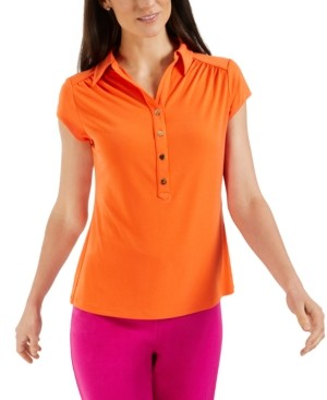 Charter Club Petite Polo Top, Created for Macy's