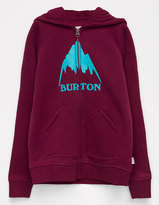 Burton Mountain Girls Zip Hoodie