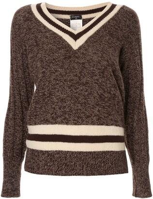 Chanel Pre Owned 1996 cashmere V-neck jumper