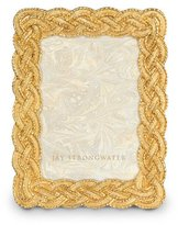 "Jay Strongwater Braided 3.5"" x 5"" Frame"