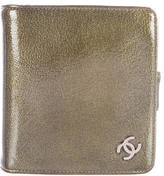 Chanel Patent Leather Compact Wallet