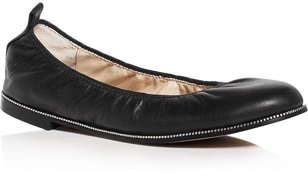 Botkier Women's Mason Leather Ballet Flats
