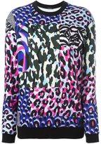 Versace 'Wild Patch' sweatshirt - women - Cotton/Polyester/Spandex/Elastane/Viscose - 40