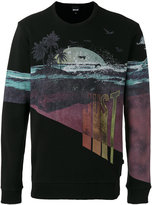 Just Cavalli graphic print sweatshirt - men - Cotton - M