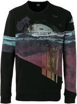 Just Cavalli graphic print sweatshirt - men - Cotton - S