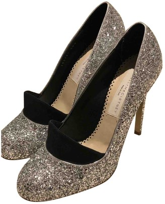 Stella McCartney Stella Mc Cartney Silver Glitter Heels