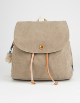 Toms Desert Canvas Poet Mini Backpack