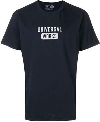 Universal Works logo printed T-shirt