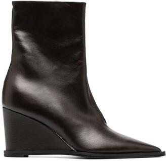 Dorothee Schumacher Zip-Up Leather Boots