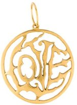 Cathy Waterman 22K Love Pendant