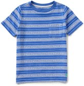 Joules Little Boys 5-6 Eliot Striped Jersey Pocket Tee