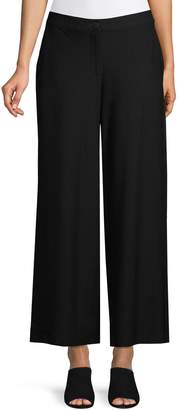 Eileen Fisher Wide Leg Ankle Pants