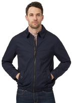 Red Herring Big And Tall Navy Collared Harrington Jacket