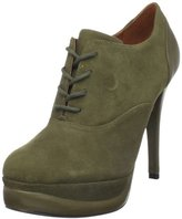 Pour La Victoire Women's Anika Lace-Up Stiletto Bootie