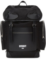 Givenchy Black Logo Ryder Backpack