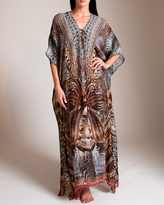 Camilla Spirit of the Abyss Lace-Up Kaftan