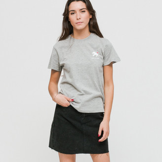 Wemoto King Cropped Heather Grey t-shirt - M - Grey